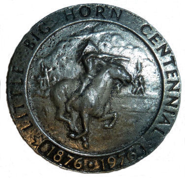 Little Big Horn Centennial Medallion