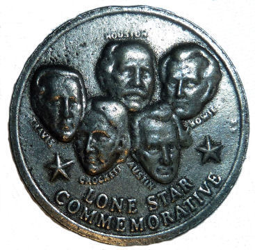 Lone Star Commemorative Medallion