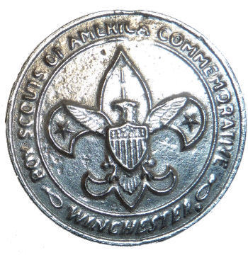 Winchester Boy Scouts Commemorative Medallion