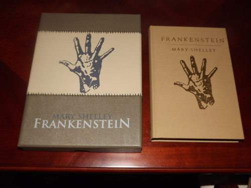 Frankenstein by Mary Shelley Signed Royal Lettered Edition