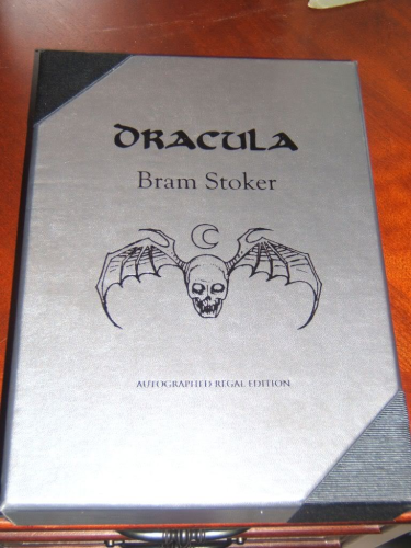 "Dracula by Bram Stoker ""PC"" Signed Regal Limited Edition"