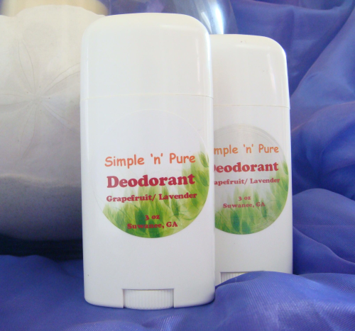 3 oz Lavender/Grapefruit Natural Deodorant