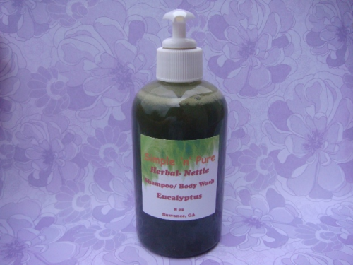 Nettle Herbal Shampoo/Body Wash-Eucalyptus