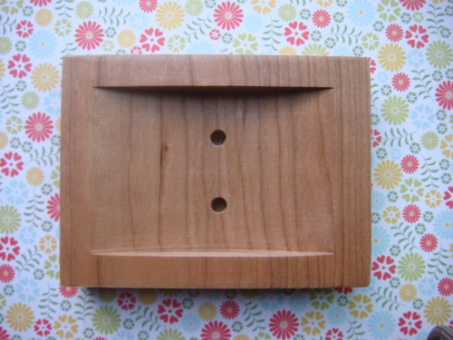 Cherry Wood Soap Dish
