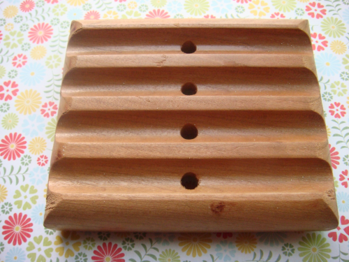 Maple Wood Soap Dish