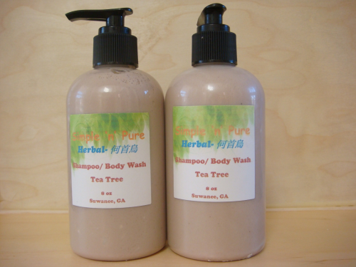 Herbal Shampoo/Body Wash-何首烏-Tea Tree