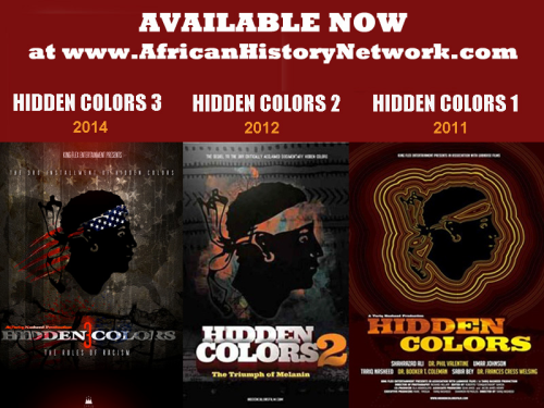 "Hidden Colors Bundle Pack - All 3 ""Hidden Colors"" DVDs for $60 plus 3 FREE DVD from Michael Imhotep"