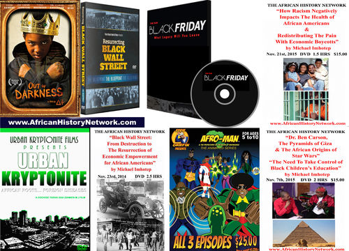 Out Of Darkness Family Bundle Pack with DVDs from Michael Imhotep