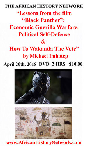 "Lessons from ""Black Panther"": Economic Guerilla Warfare, Political Self Defense, Wakanda The Vote"