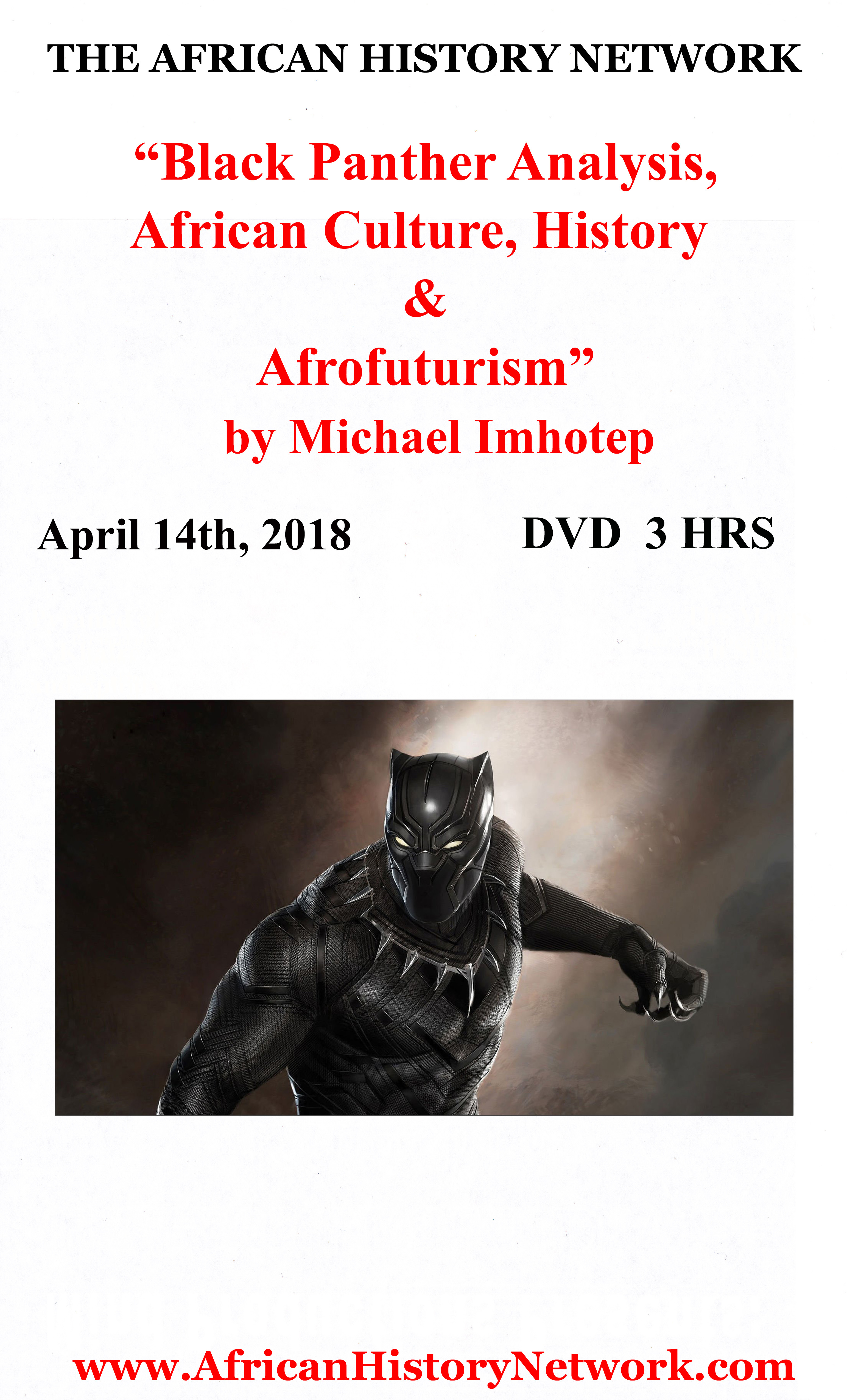 Michael_Imhotep_-_Black_Panther_Lecture_4-13-18_-_DVD_Insert_Front_Label