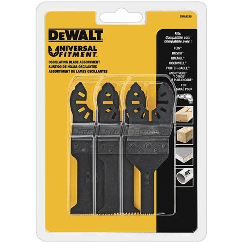 DEWALT DWA4215 Oscillating 3-Piece Set