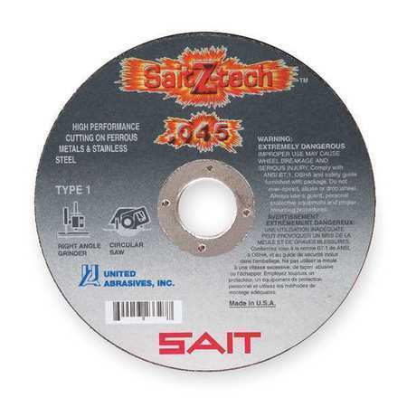 "SAIT Z-Tech 4-1/2"" x .045"" x 7/8"" Cut-Off Wheel"