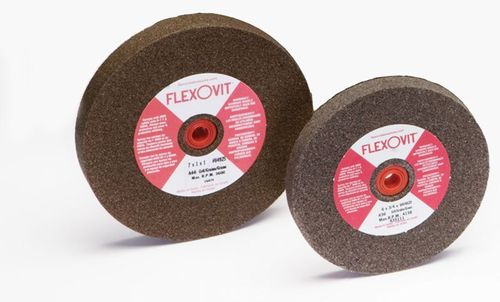 "Flexovit General Duty Bench Grinder Wheel 10""x1""x1-1/4"" A36 Med"