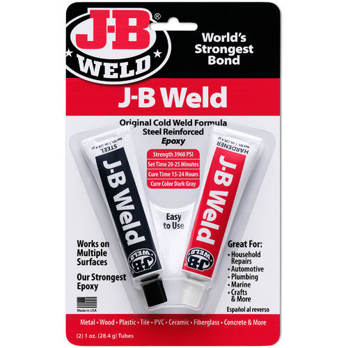 J-B Weld Original Cold Weld Epoxy, 1 oz tube each