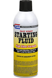 CYCLO Starting Fluid, High Ether Formula (10.7 oz)