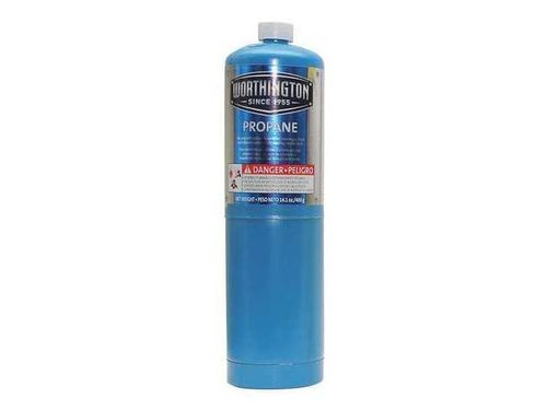 WORTHINGTON Fuel Cylinder, Propane, 14.1 oz