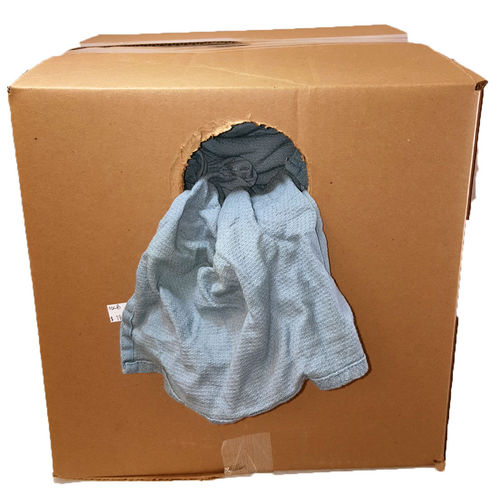Box of Huck Wiping Rags, 10 lbs