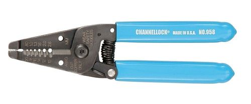 "CHANNEL LOCK 6-1/4"" Wire Stripper and Cutter"