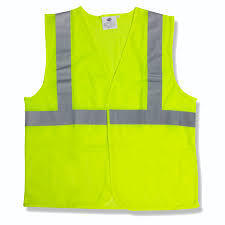 CORDOVA High Visibility Safety Vest, Lime Green, Class 2, L/XL