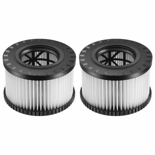 DEWALT Replacement HEPA Filters for DeWalt Dust Extractors (2PK)