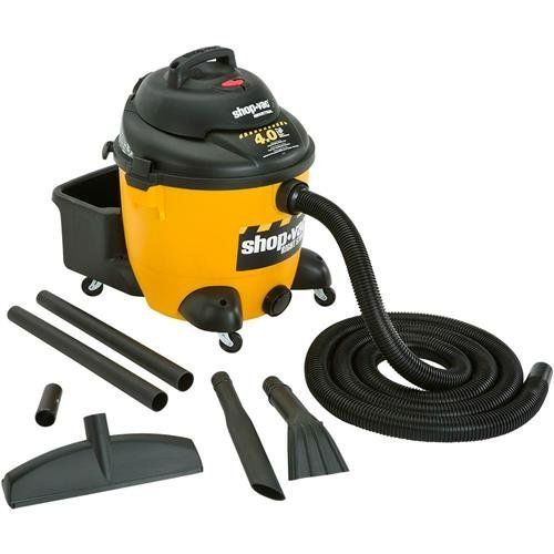 SHOP-VAC 10 Gallon Contractor 4.0 Peak HP Contractor Series Wet Dry Vac