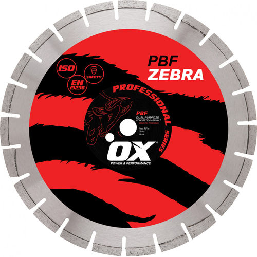 "OX 18"" Professional PBF Diamond Blade for Floor/Walk-Behind Saws"