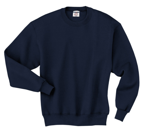 4662 Jerzees Super Sweats Cotton/Poly Crewneck Fleece Sweatshirt