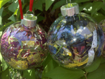 Fresh Floral Memorial Ornaments
