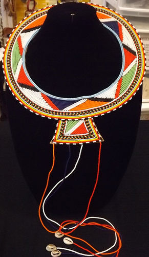 Massai Beaded necklace