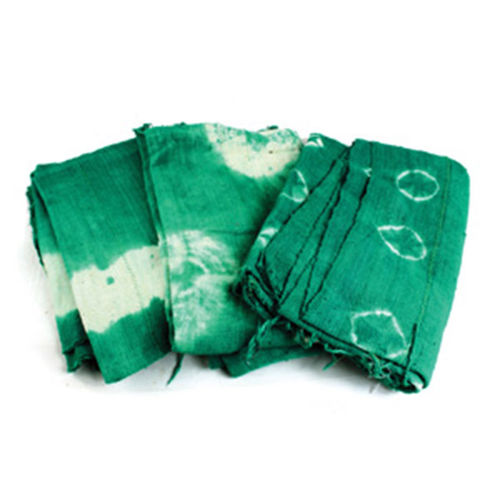 Mud Cloth Colored - Green Tie Dye
