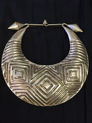 Handmade silver necklace from Tibet *Unique*