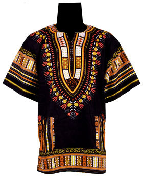 Traditional Dashiki Black