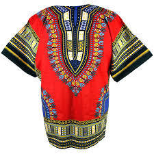 Traditional Dashiki Red