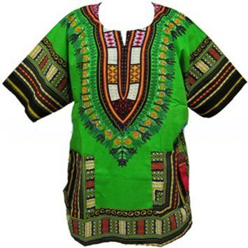 Traditional Dashiki Green