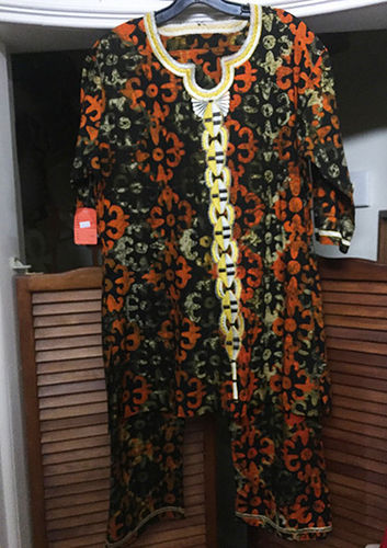 Genuine African Print Pant Set