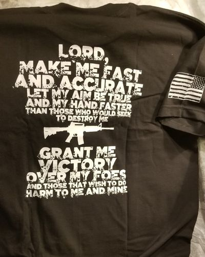 T-shirt Sniper's Prayer