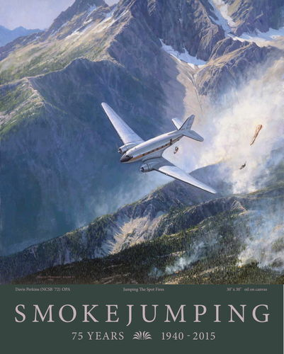"""Jumping the Spot Fires"" anniversary poster"