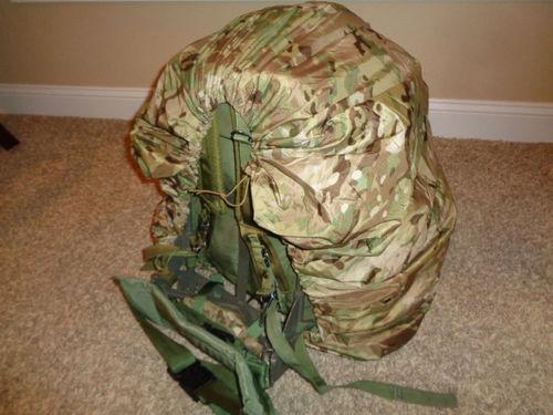 Custom Multicam Rucksack Rain Cover * Fits Military Rucks and Back Packs