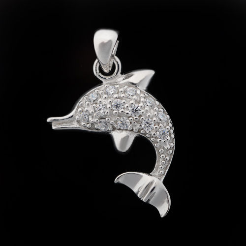 Shiny objects dolphin pendants aloadofball Gallery