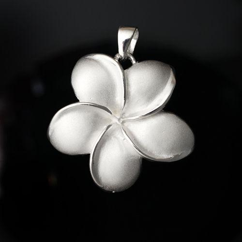 Shiny objects flower pendants sterling silver flower pendant aloadofball Choice Image